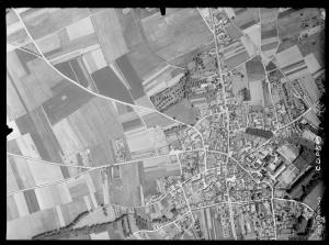 Pontlevoy vue aérienne 1947